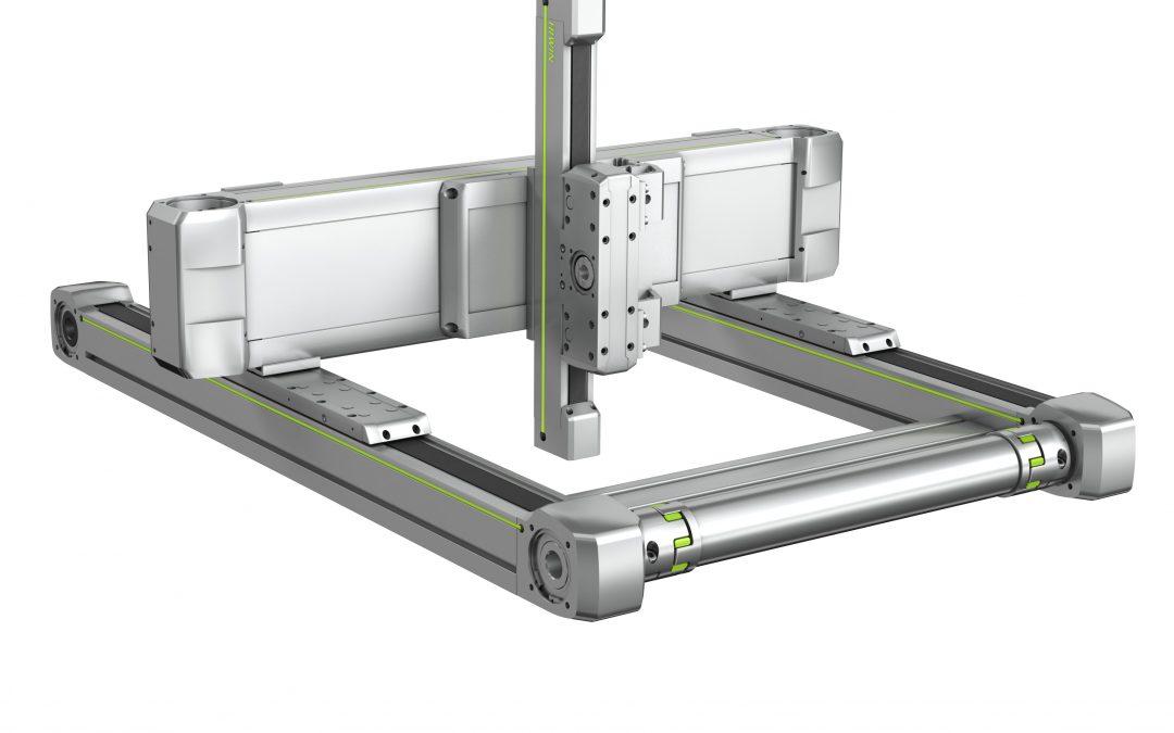 Flexibles Dreiachs-System