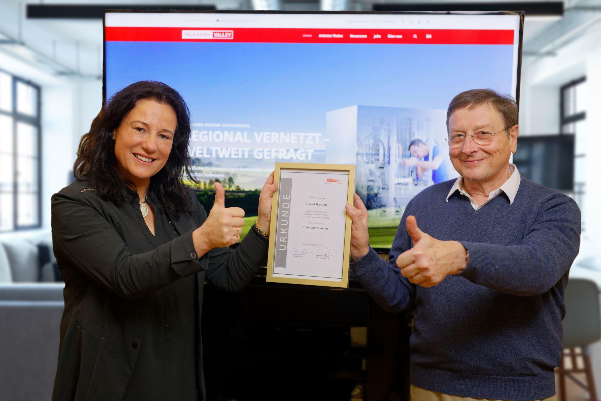 Wechsel im Vorstand von Packaging Valley Germany