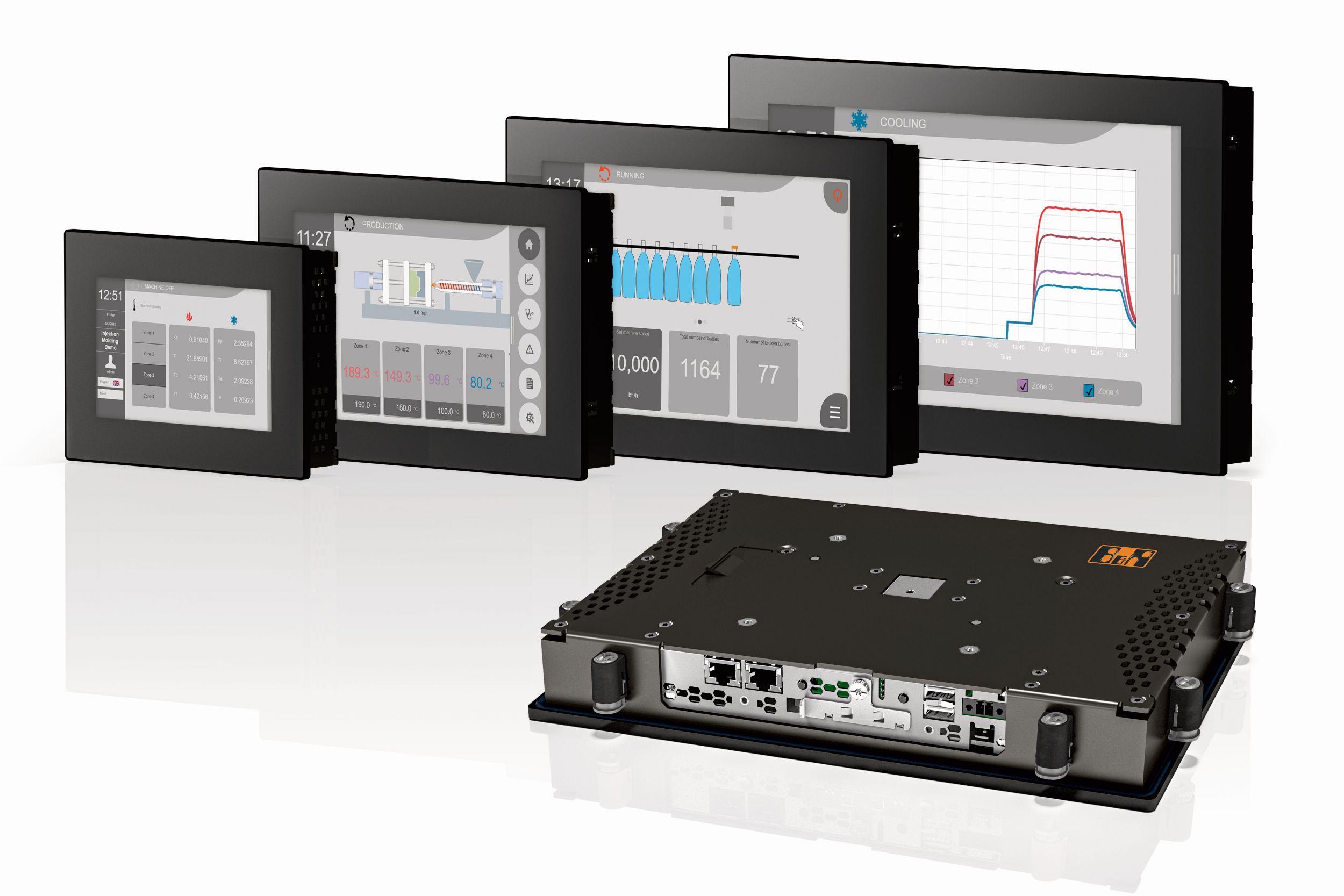 B&R: Panel PC von 7,0″ bis 15,6″ im robusten Design