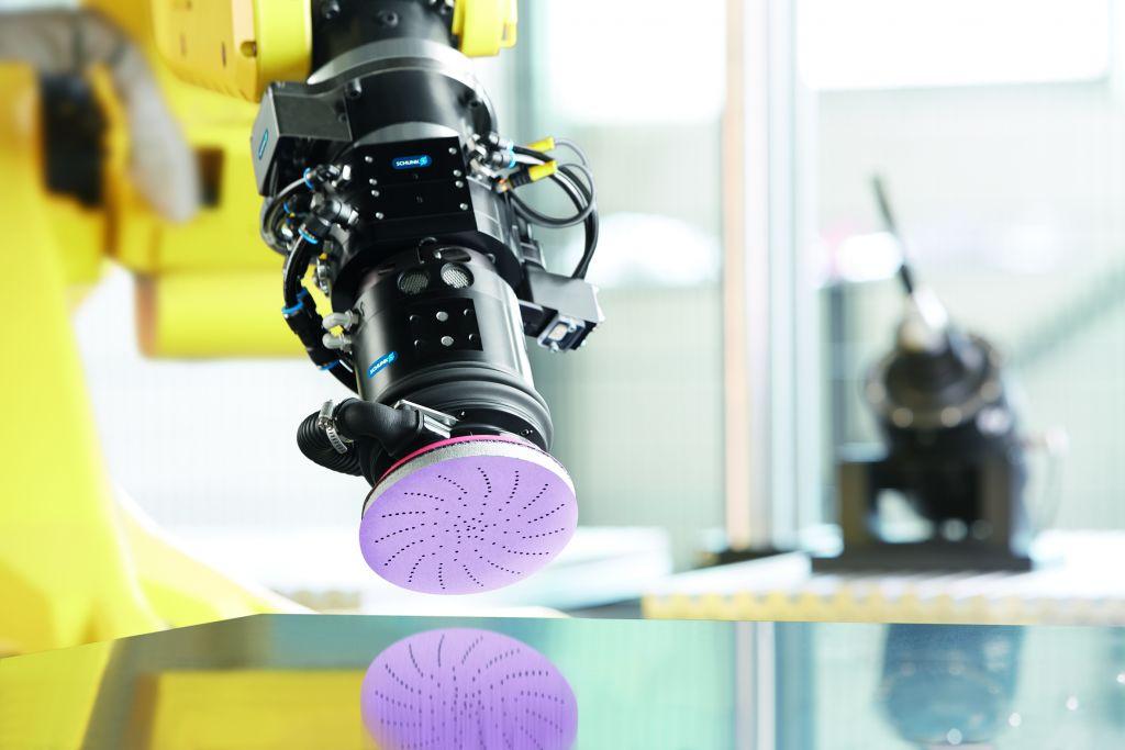 Die Kooperation von Schunk und 3M eröffnet neue Möglichkeiten bei der optimalen Gestaltung automatisierter Schleifprozesse.