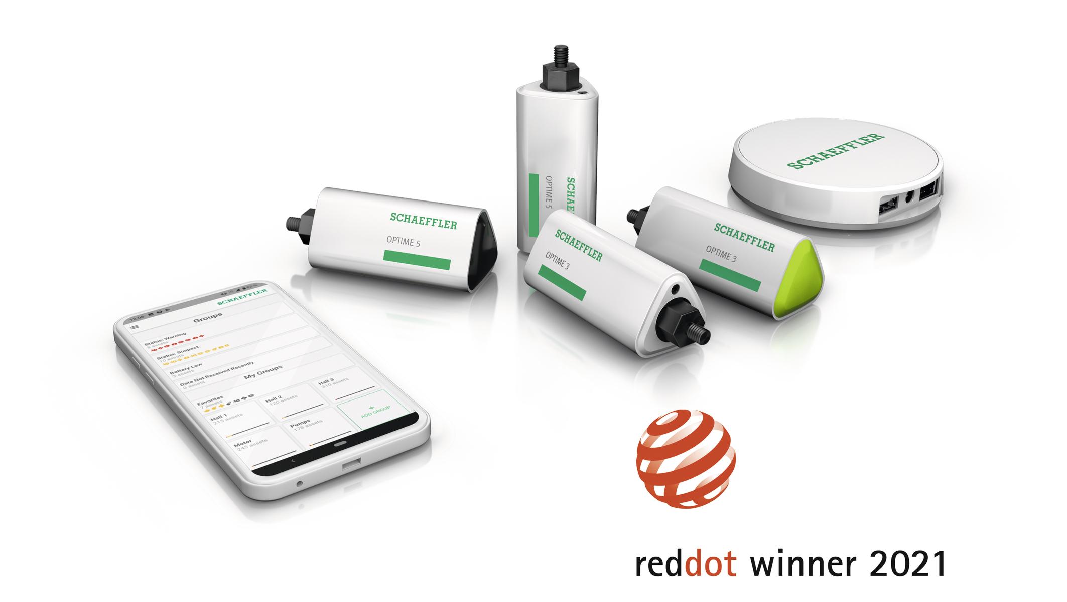 Optime gewinnt Red Dot Award