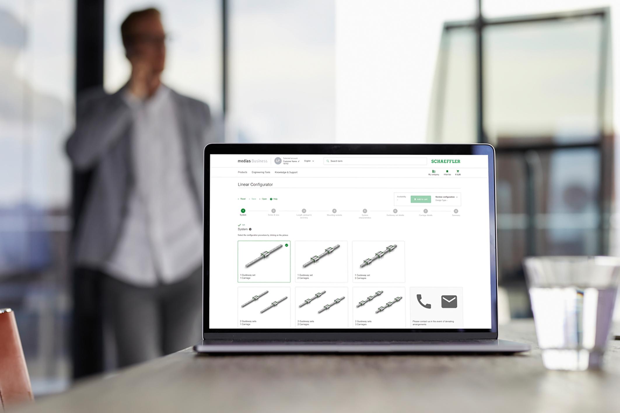 Schaeffler bündelt Shop, Datenbank und Katalog auf einer Plattform