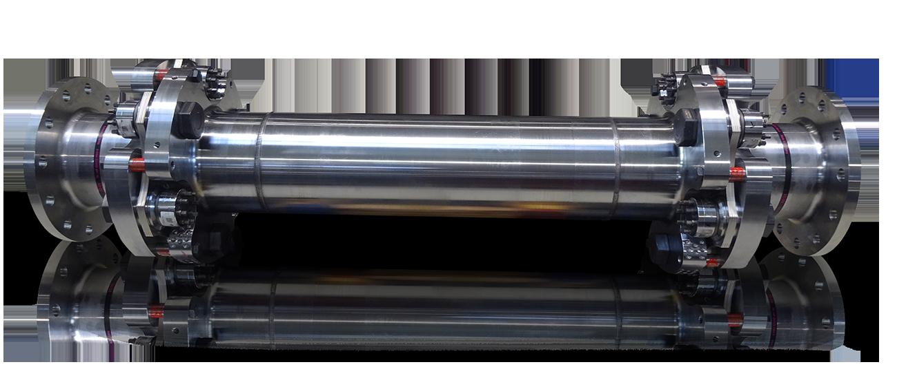 R+W Lamellenkupplung mit Reibschlussprinzip für Prüfungen in der Luft- und Raumfahrt