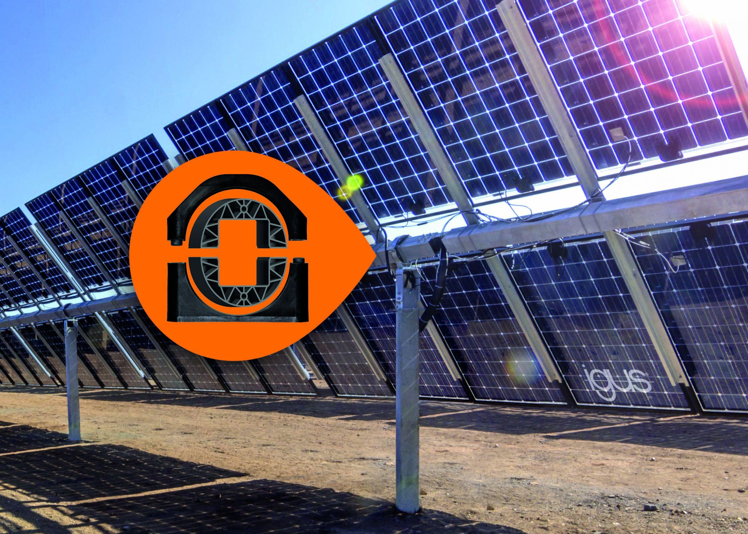 Igus mit dreimal UV-beständigeren Solarwerkstoffen