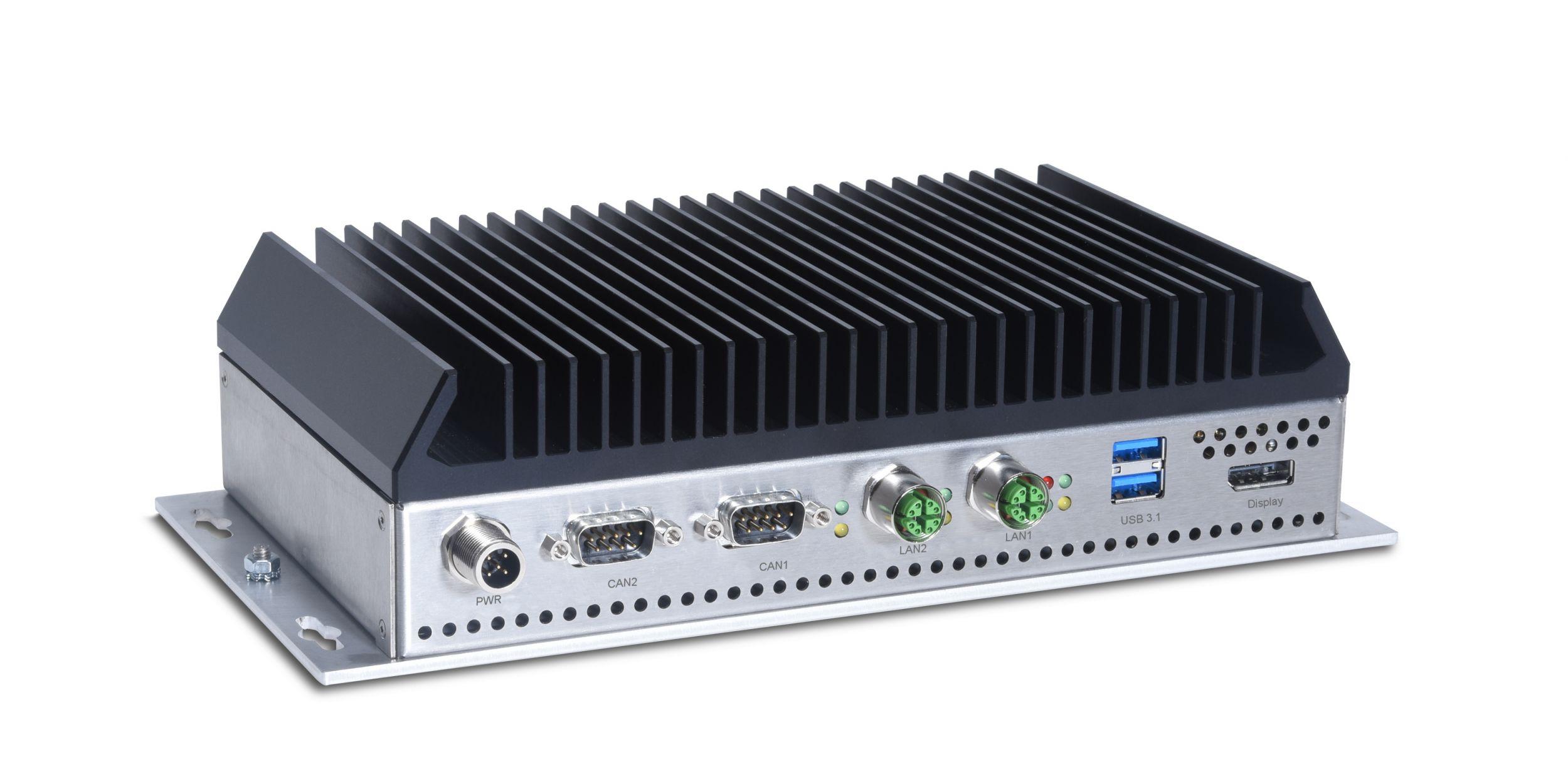 Bahn-Computer auf Basis von Nvidia Jetson AGX Industrial
