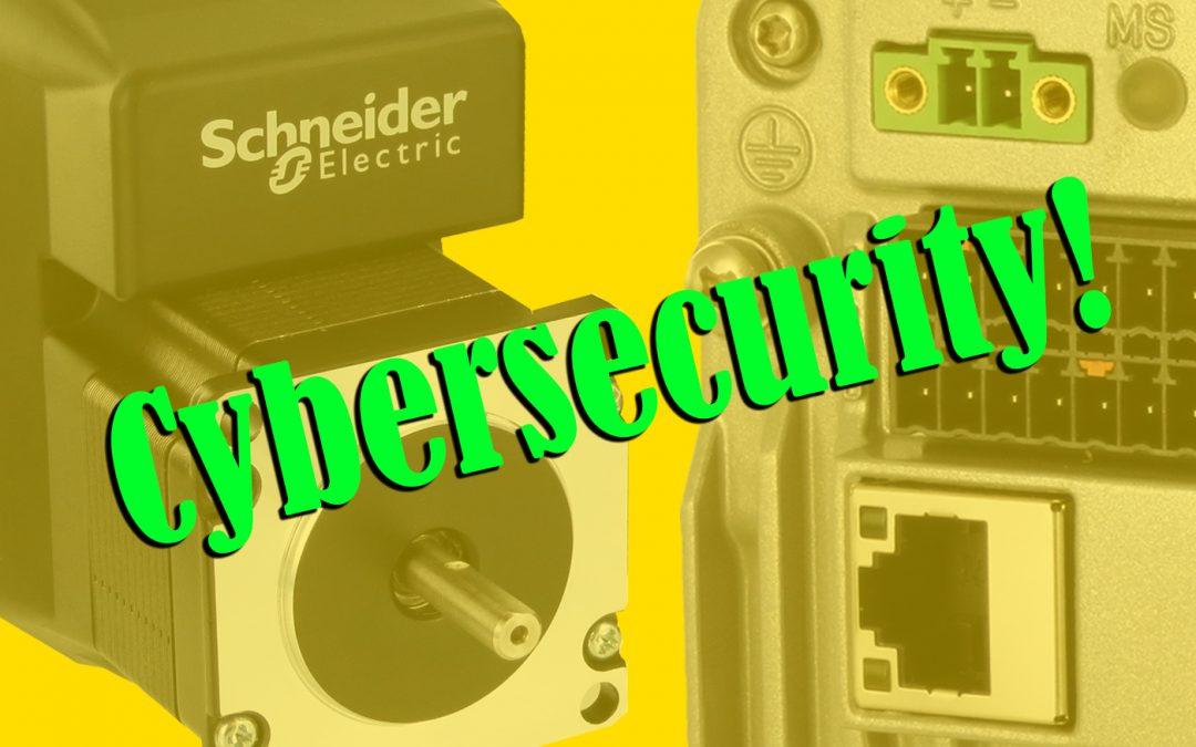 Cybersicherheit für Ethernet-Antriebe