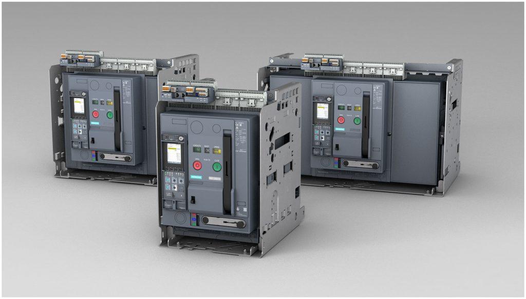 Die Reihe 3WA erneuert das Sentron-Portfolio für offene Leistungsschalter von Siemens.