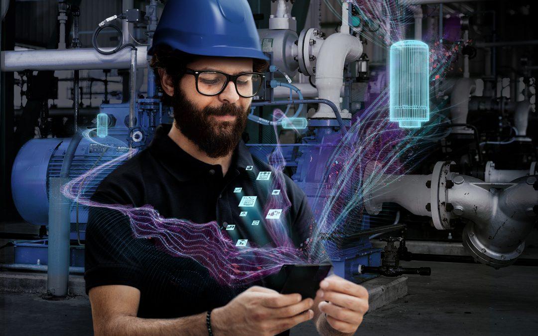Smart-Condition-Monitoring-Lösung mit IIoT-Sensoren für industrielle Anlagen