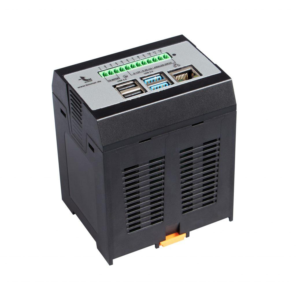 tim®IOT besteht aus einem intelligenten Sensor zur Datenerfassung und der tim®IOT-Smartbox. Diese verbindet die Pumpe mit der tim®IOT-Cloud-Plattform.