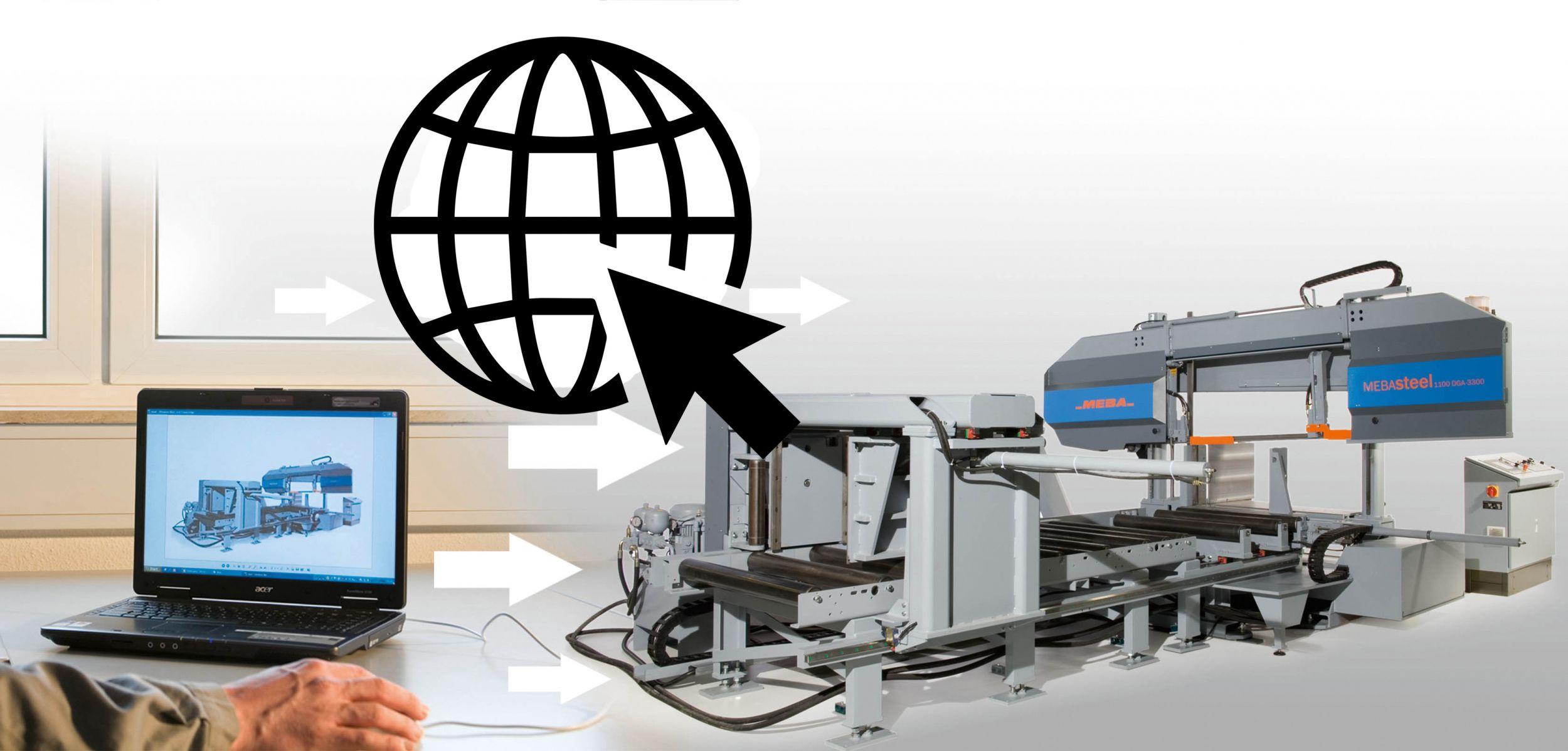 Sägehersteller goes digital