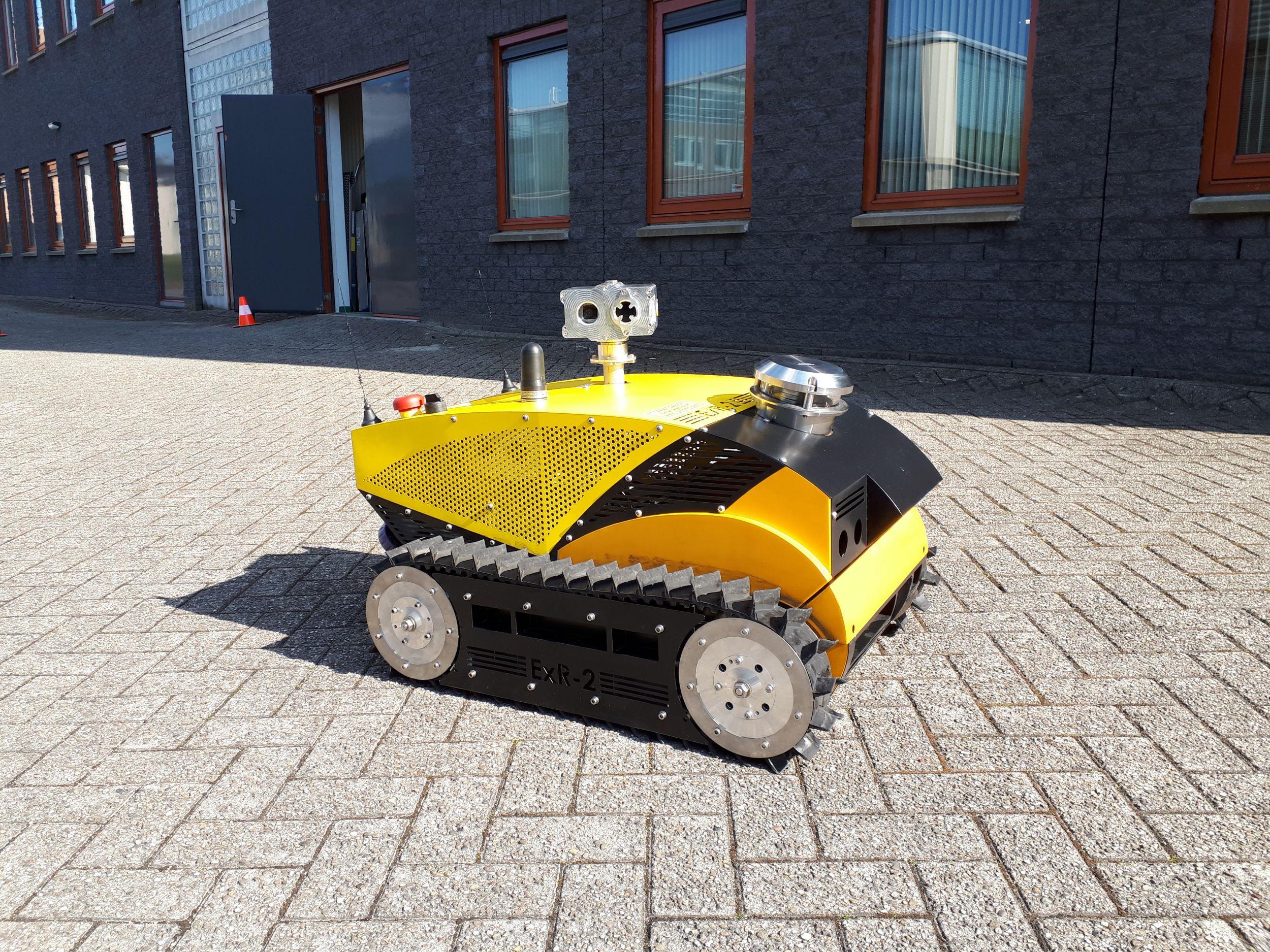 Energy Robotics setzt ExRobotics-Lösung ein