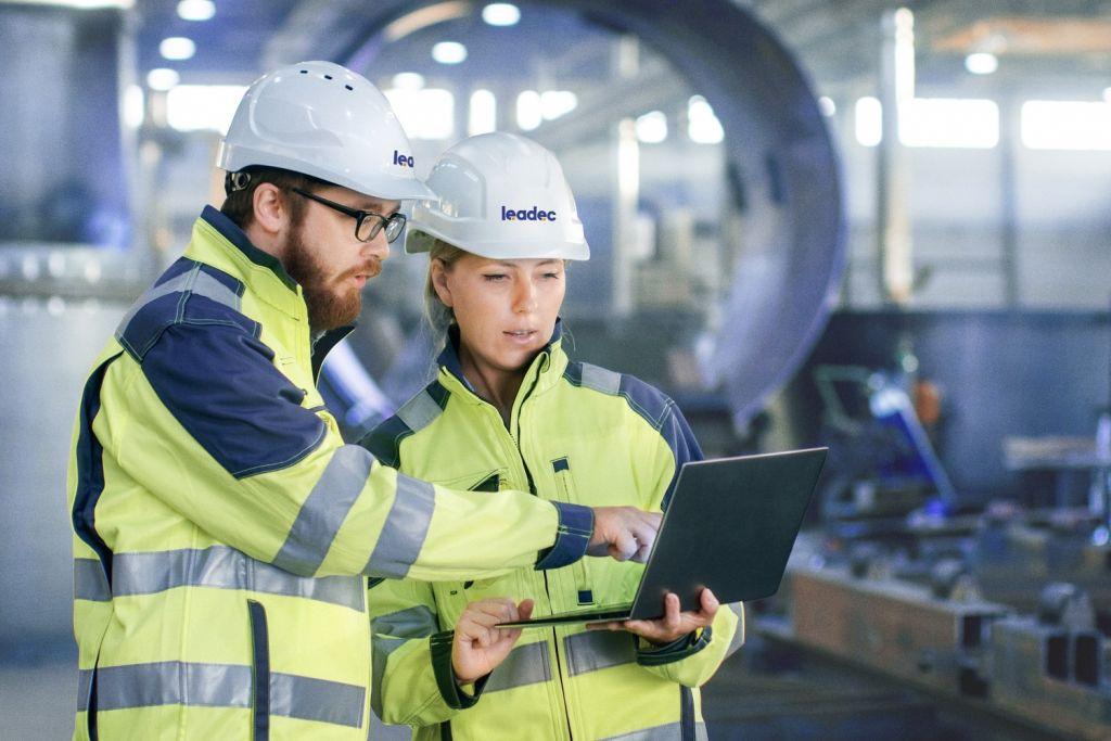 Leadec legt großen Wert auf Arbeitssicherheit. Bis 2025 will der Servicespezialist eine Unfallhäufigkeitsrate von unter 1 erreichen.