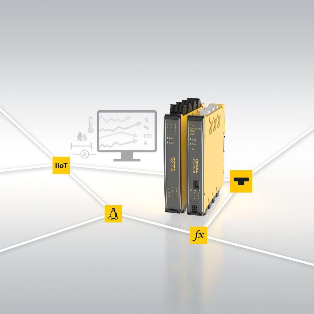 Turcks IM18-CCM-Plattform bietet OEMs differenziert Möglichkeiten für effiziente Zustandsüberwachung von Maschinen und Anlagen