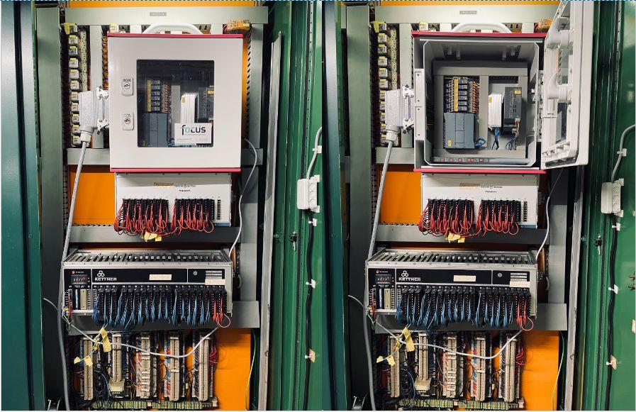 Abgreifen von Maschinensignalen durch Edge-Box an einer Steuerung von 1984