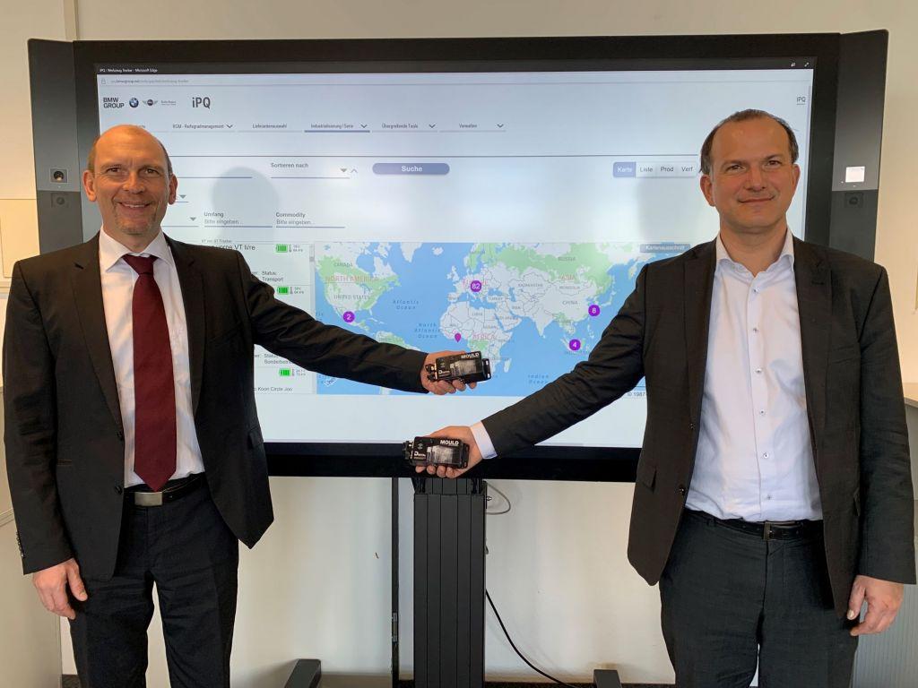 BMW Werkzeugmanagement: Dr. Jürgen Wenger und Dr. Axel Niemeyer, Leiter Werkzeugmanagement der BMW Group