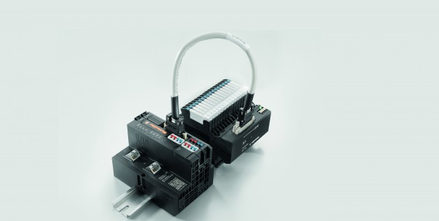 Weidmüller Termseries Interface-Adapter: Termseries Interface-Adapter sind auch mit dem Remote-I/O System u-remote anwendbar. (Bild: Weidmüller Interface GmbH & Co. KG)
