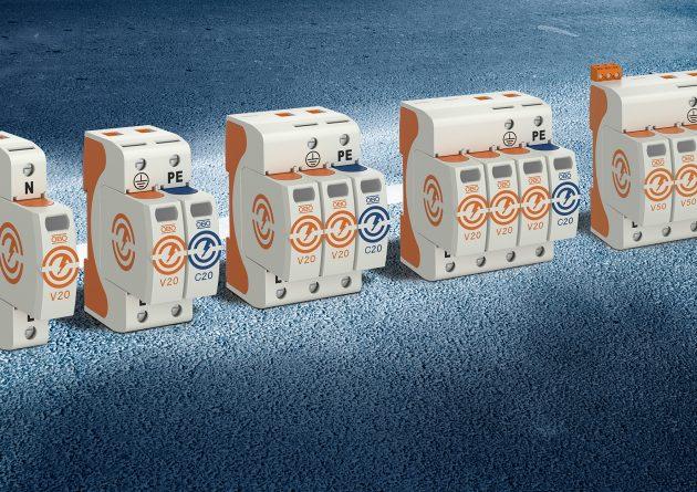 Die neuen Serien der V50 Kombi- und der V20 Überspannungs-Ableiter überzeugen mit zahlreichen durchdachten Details. (Bild: OBO Bettermann GmbH & Co. KG)
