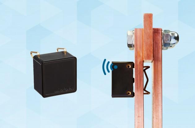 Energieautarker mNode-Sensor überwacht Temperaturen in Schaltschränken und hilft<br /><br /><br /><br /> Unfälle und Betriebsunterbrechungen im Vorfeld zu verhindern. (Bild: Micropelt GmbH)