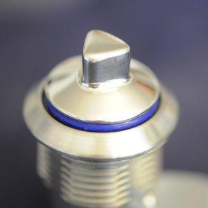 Der zum Patent angemeldete Gleitring-Vorreiber ist komplett aus Edelstahl (AISI 304 oder AISI 316L) und so konstruiert, dass keine Totzonen entstehen, in denen sich Produktreste absetzen und Schmutznester en können. (Bild: Steeldesign GmbH)