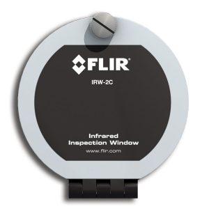 IR-Fenster mit offenem und geschlossenem Deckel (Bild: FLIR Systems GmbH)