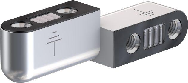 Läutet das Ende des Massebandes ein: Das elektrische Erdungsscharnier EGH mit Schutzart IP66. (Bild: Multi-Contact Deutschland GmbH)