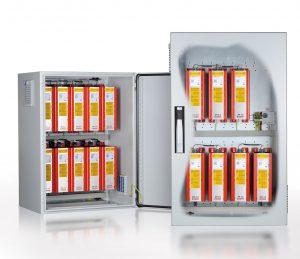 Die Standardschaltschränke KTS sind in zahlreichen Bestückungsvariationen lieferbar. (Bild: Michael Koch GmbH)