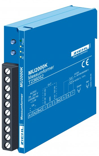 Messumformer für AC und DC, Strom und Spannung