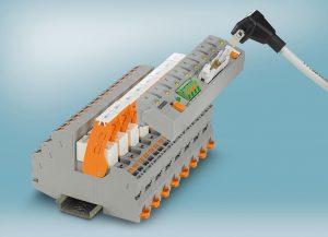 Systemverkabelungsadapter für Industrie-Relaissystem
