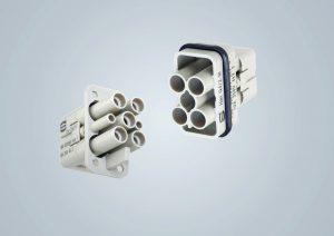 Industrie-Steckverbinder einsatzbereit für US-Schaltschränke
