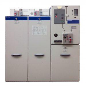 Die geringen Abmessungen des neuen Vakuum-Leistungsschalterfelds gae  -1lsv2- von Ormazabal ermöglichen den Einsatz in Kompaktstationen, bei denen es auf jeden Zentimeter ankommt. (Bild: Ormazabal GmbH)