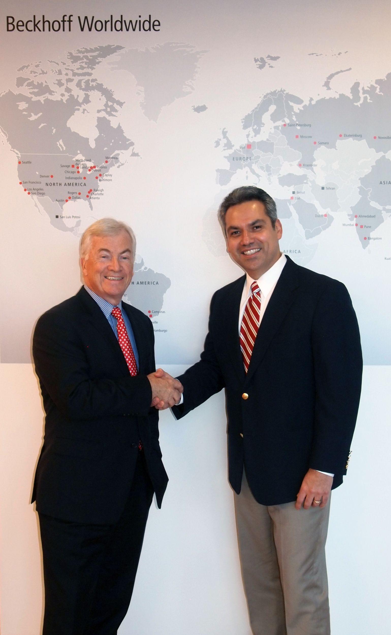 Beckhoff Nordamerika: Banda übernimmt Geschäftsleitung