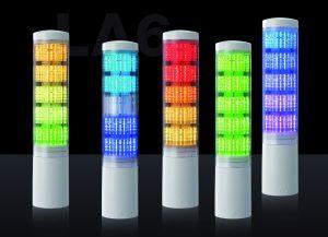 Patlite stellt neue Signalturm-Generation mit über 4000 Farben vor
