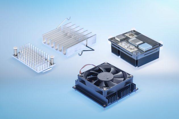 Maßgeschneiderte Kühlkörper für Embedded Systeme und IPC (Bild: CTX Thermal Solutions GmbH)
