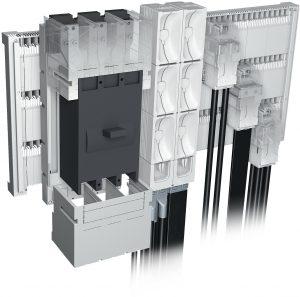 Die Module können - genau wie die Anschlussleisten - sowohl einzeln, als auch mehrfach auf dem Sammelschienensystem eingesetzt werden. (Bild: Wöhner GmbH & Co. KG)