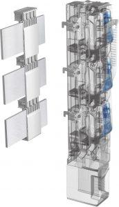 Auf dem berührungsgeschützten System ist die Montage mit Klemmbügel sogar unter Spannung möglich. (Bilder: Wöhner GmbH & Co. KG)
