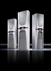 Um die Energieeffizienz deutlich zu erhöhen, setzt Rittal bei seiner neuen Kühlgeräte-Generation Blue e+ erstmals auf ein innovatives, patentiertes Hybridverfahren. (Bild: Rittal GmbH & Co. KG)