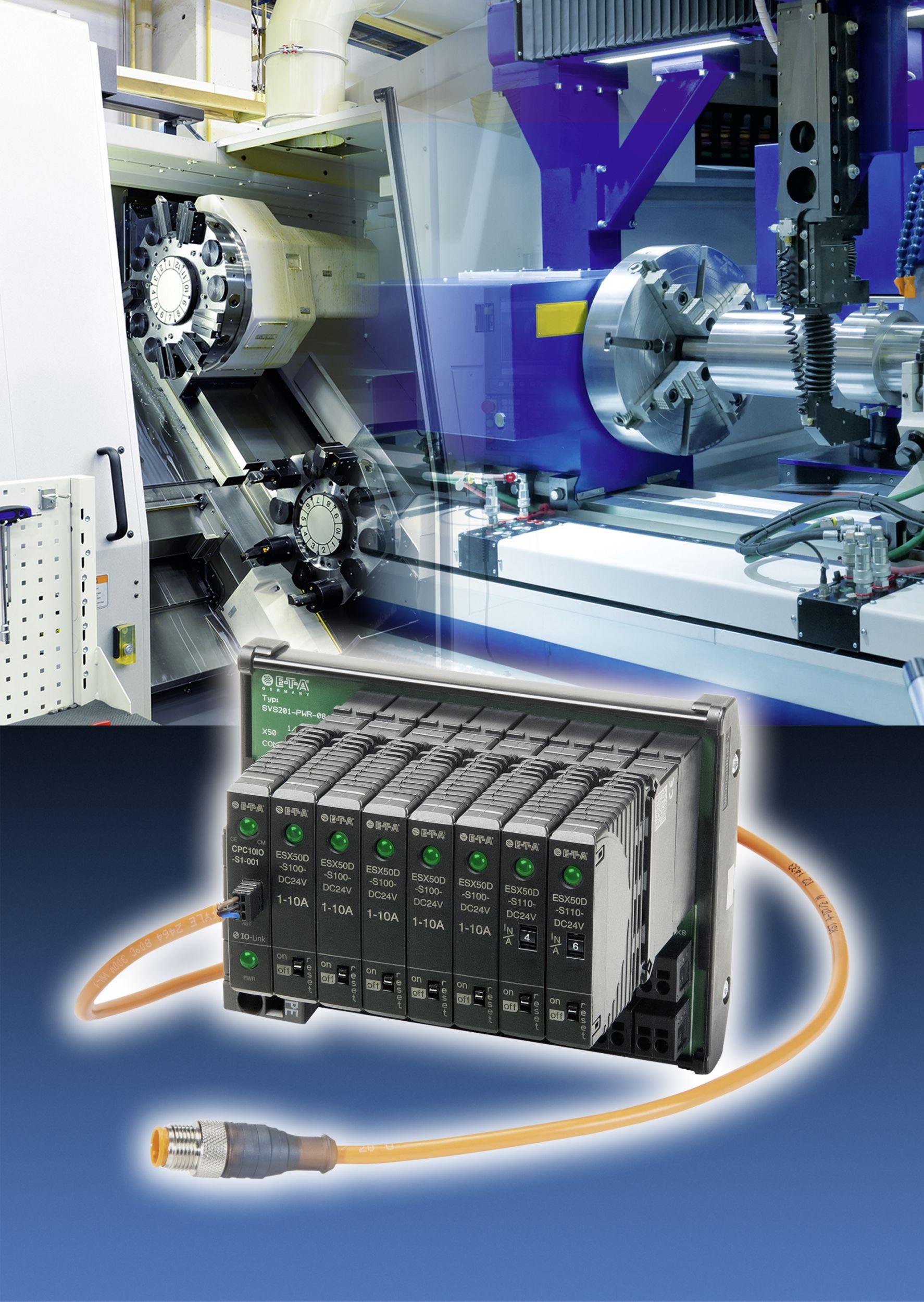 Stromverteilungssystem mit IO-Link