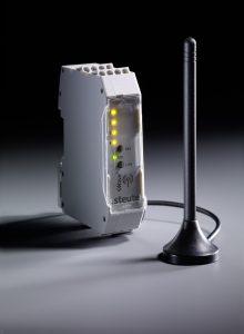 Die Funk-Empfangseinheiten der Baureihe RF Rx SW868/915 sind sehr kompakt und damit für den Schaltschrank geeignet. (Bild: steute Schaltgeräte GmbH & Co. KG)