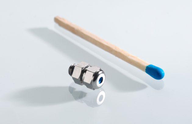 Um die Variante M4 für kleine Kabel ergänzt wurde das  UNI Dicht-Baukastensystem für Kabelverschraubungen. (Bild: Pflitsch GmbH & Co. KG)