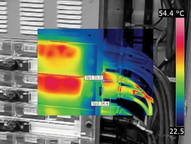 Krämer: ?Insbesondere die -im--Funktion ist sehr sinnvoll, um in seinem Bericht zu zeigen, wo sich das gemessene Objekt befindet.? (Bild: FLIR Systems GmbH)