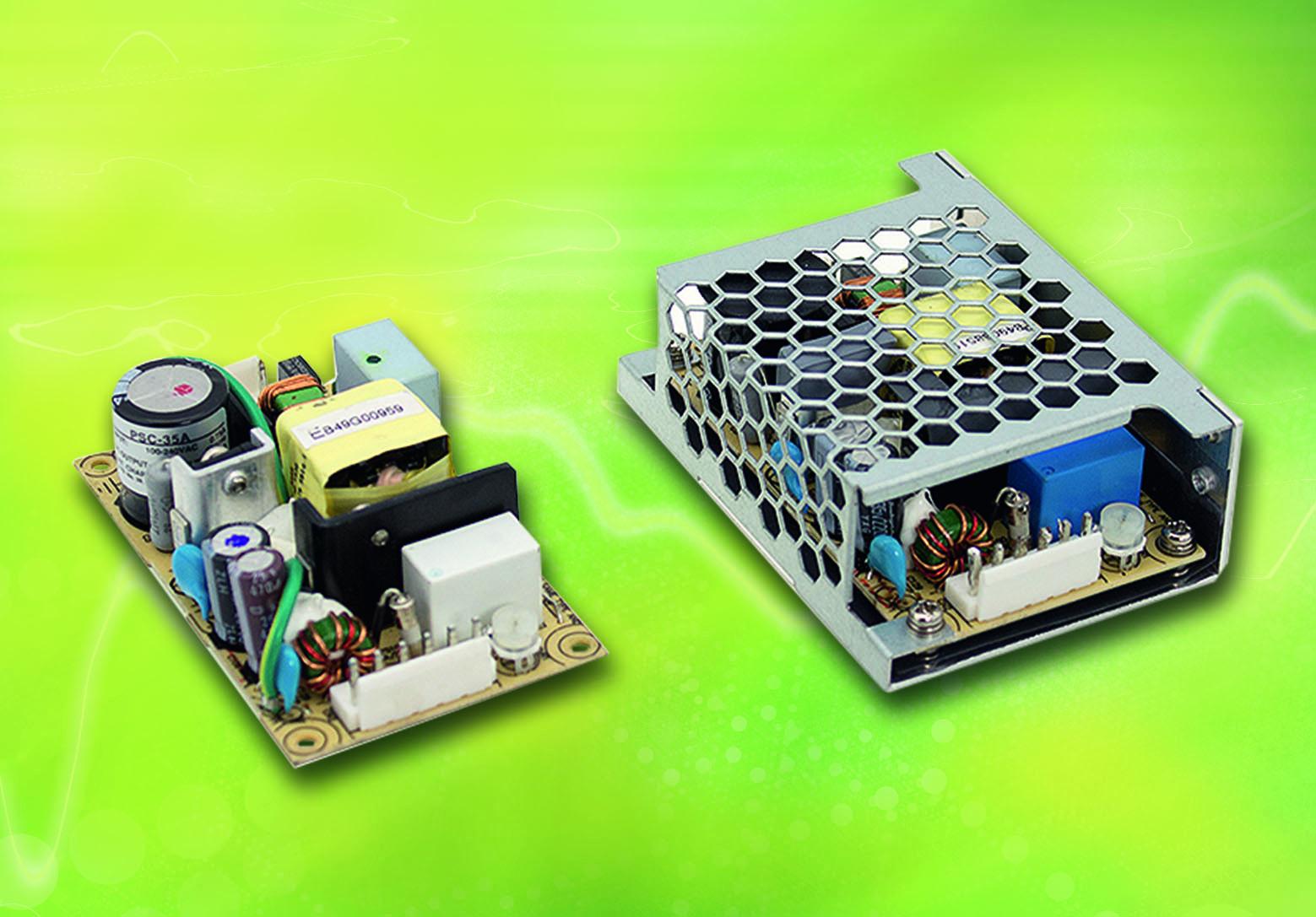 35W-Netzteil für sicherheitsrelevante Anwendungen