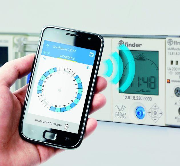 Zeitschaltuhren-Programmierung mit Smartphone