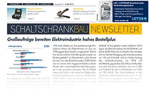 Schaltschrankbau Newsletter 4 2015