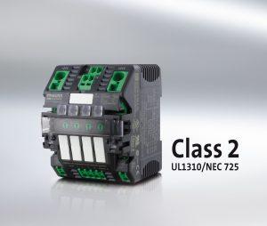 NEC-Class-2-Zulassung für elektronische Sicherung