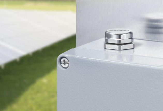 Die neuen Druckausgleichselemente von Kaiser sorgen für einen schnellen und kontinuierlichen Druckausgleich in Elektrogehäusen und verhindern die ung von Kondenswasser. (Bild: Kaiser GmbH & Co. KG)