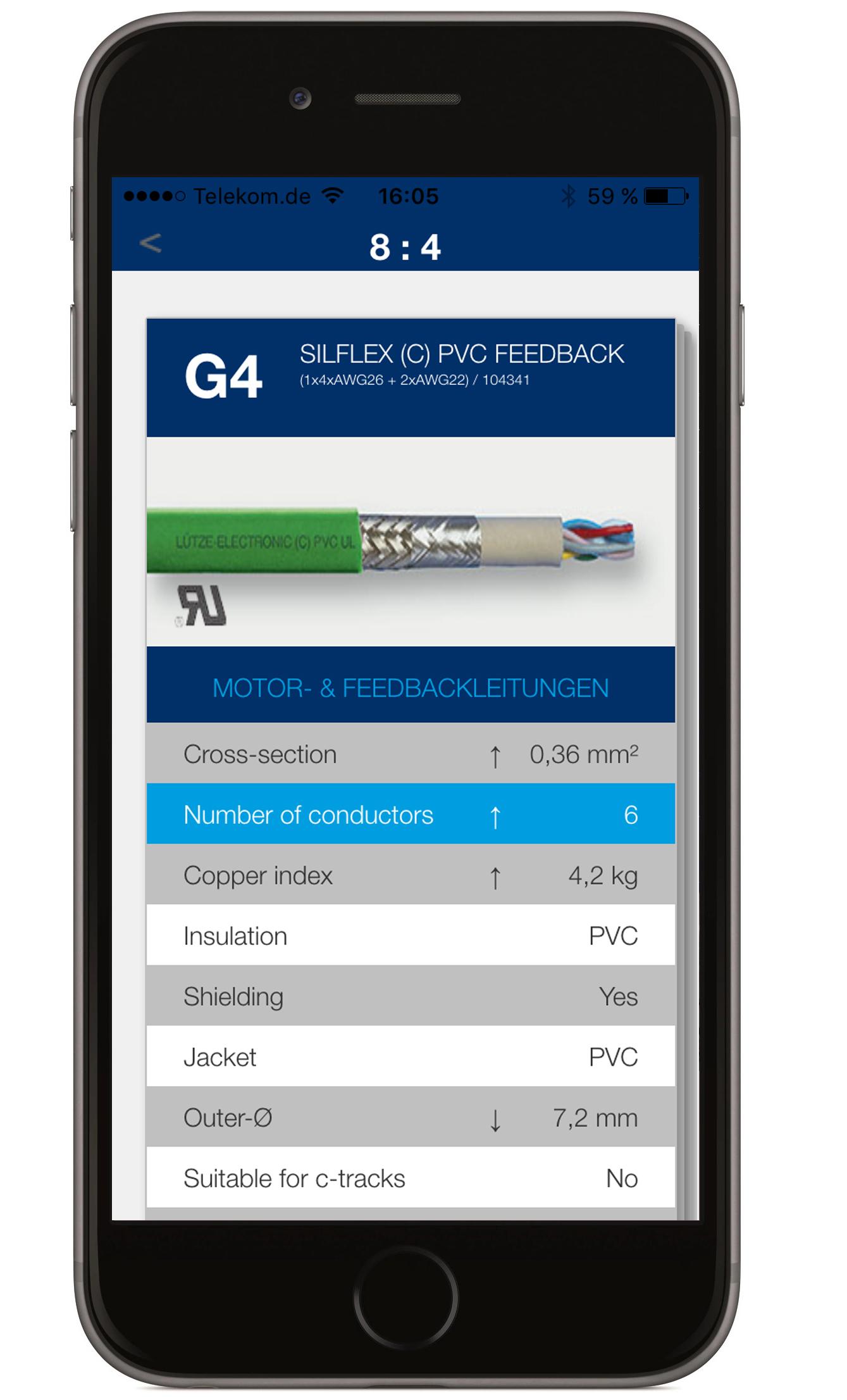 Lütze mit neuer App