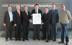 ABB Stotz-Kontakt jetzt DIN ISO10002-zertifiziert