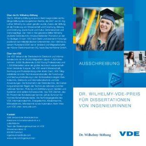 Beste Doktorandin der Elektro- und Informationstechnik gesucht