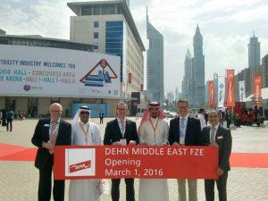Dehn gründet Tochtergesellschaft in den Emiraten