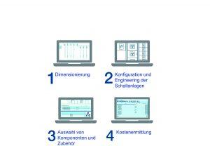 Auch für Ungeübte lässt sich die neue Planungs-Software unproblematisch handhaben. (Bild: ABB Stotz-Kontakt GmbH)